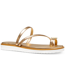 Michael Michael Kors Letty Thong Sandals
