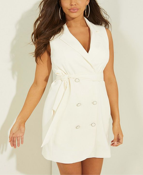 GUESS Maryse Blazer Mini Dress