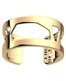 Gold-Tone Large Girafe Ring, 8mm 0.3in