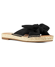 Brock Bow Espadrille Flat Sandals