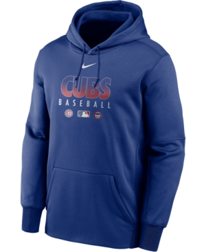 Nike Men's Chicago Cubs Authentic Collection Therma Dugout Hoodie