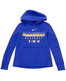 Youth Seattle Mariners Therma Fleece Hoodie