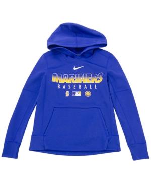Nike Youth Seattle Mariners Therma Fleece Hoodie