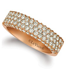 Nude Diamond Band (1-1/5 ct. t.w.) in 14k Rose Gold