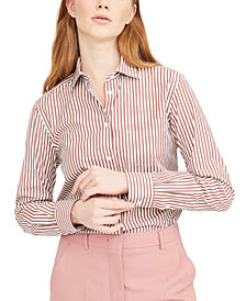 Weekend Max Mara Arpa Cotton Striped Shirt