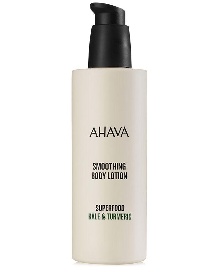 Ahava - Superfood Kale & Turmeric Body Lotion, 8.5-oz.