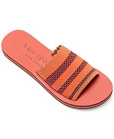 Women's Poolside Flat Sandals