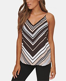 Striped V-Neck Cami