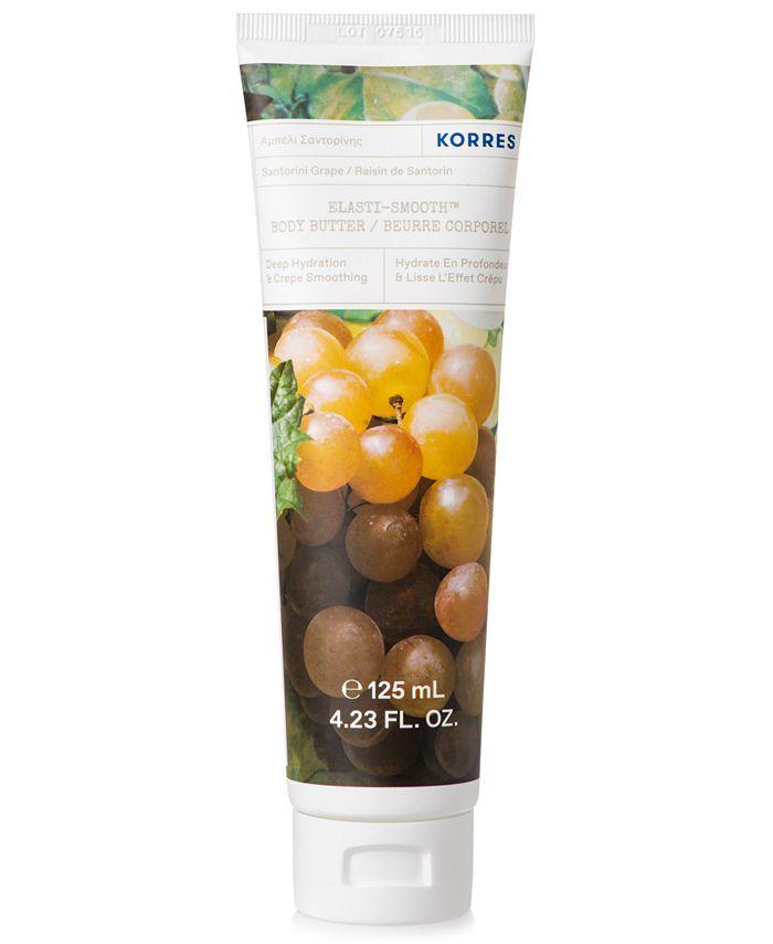 KORRES - Korres Elasti-Smooth Santorini Grape Body Butter, 4.23-oz.