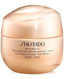 Benefiance Overnight Wrinkle Resisting Cream, 1.7-oz.