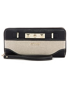 Raffie Zip Around Wallet