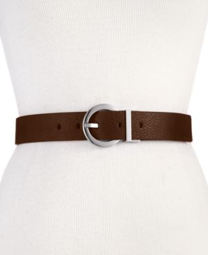 REVERSIBLE ROUND-BUCKLE BELT, CREATED FOR MACY'S