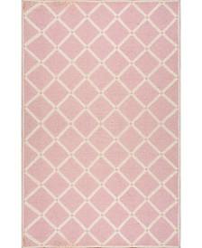 Takako MTVS173B Pink 5' x 8' Area Rug