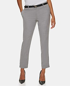 Slim Ankle-Length Pants