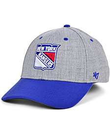 '47 Brand New York Rangers Morgan Contender Stretch-fitted Cap