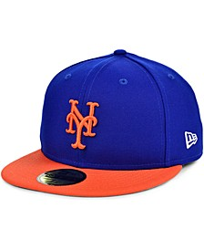 New York Mets Plate Patch 59FIFTY Cap