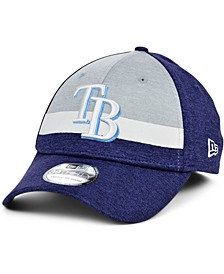 Tampa Bay Rays Youth Striped Shadow Tech 39THIRTY Cap