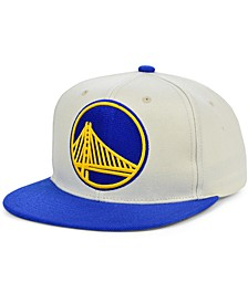 Golden State Warriors Natural XL Snapback Cap
