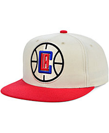 Mitchell & Ness Los Angeles Clippers Natural XL Snapback Cap