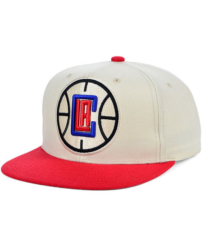 Mitchell & Ness - Los Angeles Clippers Natural XL Snapback Cap