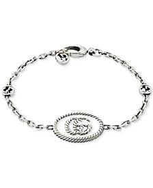 Double G Bracelet in Sterling Silver