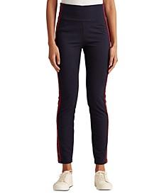 Lauren Ralph Lauren Ankle Length Athletic Pants,Lauren Navy