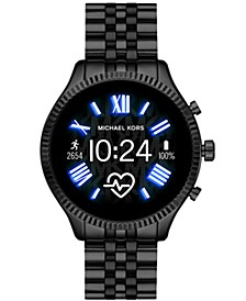 Access Unisex Gen 5 Lexington Black Stainless Steel Bracelet Touchscreen Smart Watch 44mm