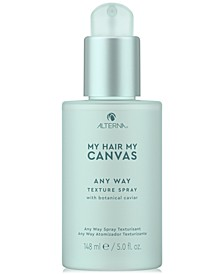 My Hair My Canvas Any Way Texture Spray, 5-oz.