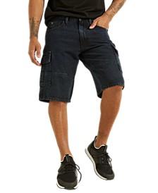 Men's Denim Cargo Shorts