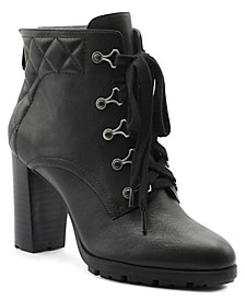 Trailer Lace Up Booties