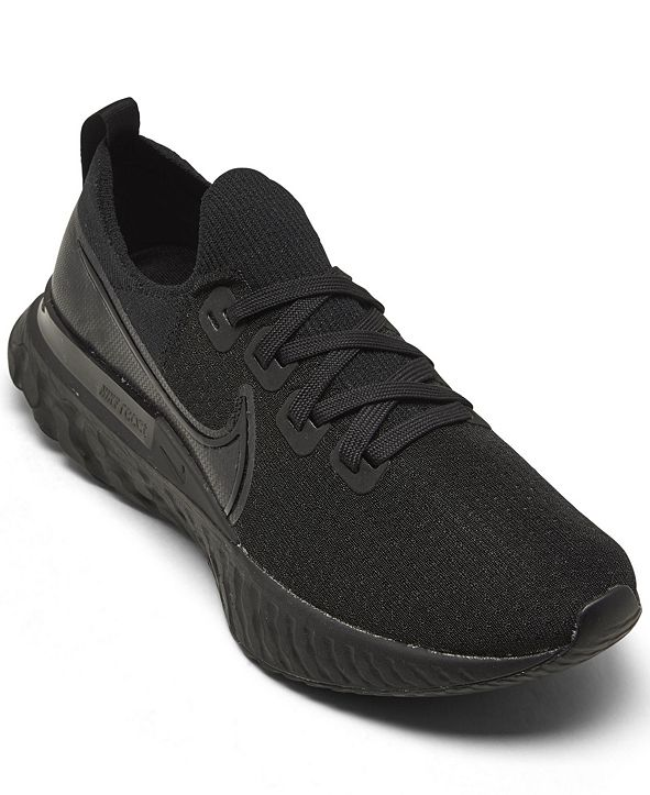 Nike Men's React Infinity Run Flyknit Running Sneakers from Finish Line