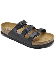Women's Florida Birko-Flor Soft Footbed Sandals from Finish Line