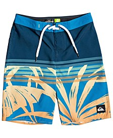 "Big Boys Everyday Tropics 18"" Boardshort"