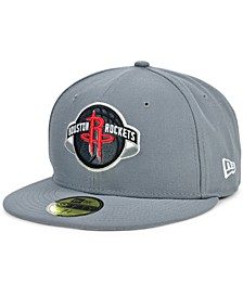Houston Rockets Storm Solid Team 59FIFTY-FITTED Cap