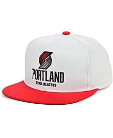 Portland Trail Blazers Fresh Crown Snapback Cap