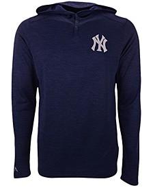 New York Yankees Men's Fuel Hooded Henley Top