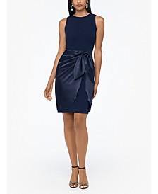 Wrap-Skirt Dress