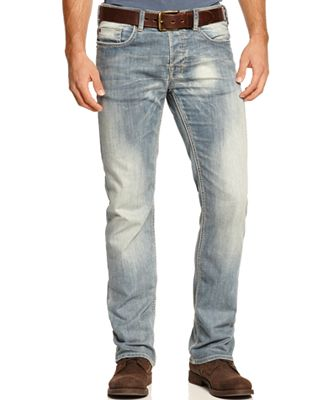 Buffalo David Bitton Men's Six Slim Straight Fit Jeans - Jeans ...