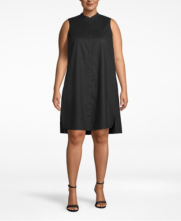 Anne Klein Plus Size Trapeze Dress