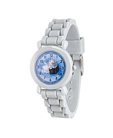 Disney Frozen 2 Olaf Boy's Gray Plastic Time Teacher Watch 32mm