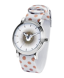 Disney Mickey Women's Silver Vintage Alloy Watch 38mm