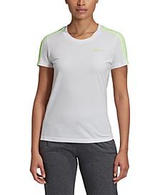 Women's Essentials Cotton 3-Stripe T-Shirt