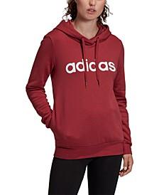 Women's Essentials Linear Fleece Hoodie