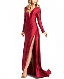 Side-Slit Gown