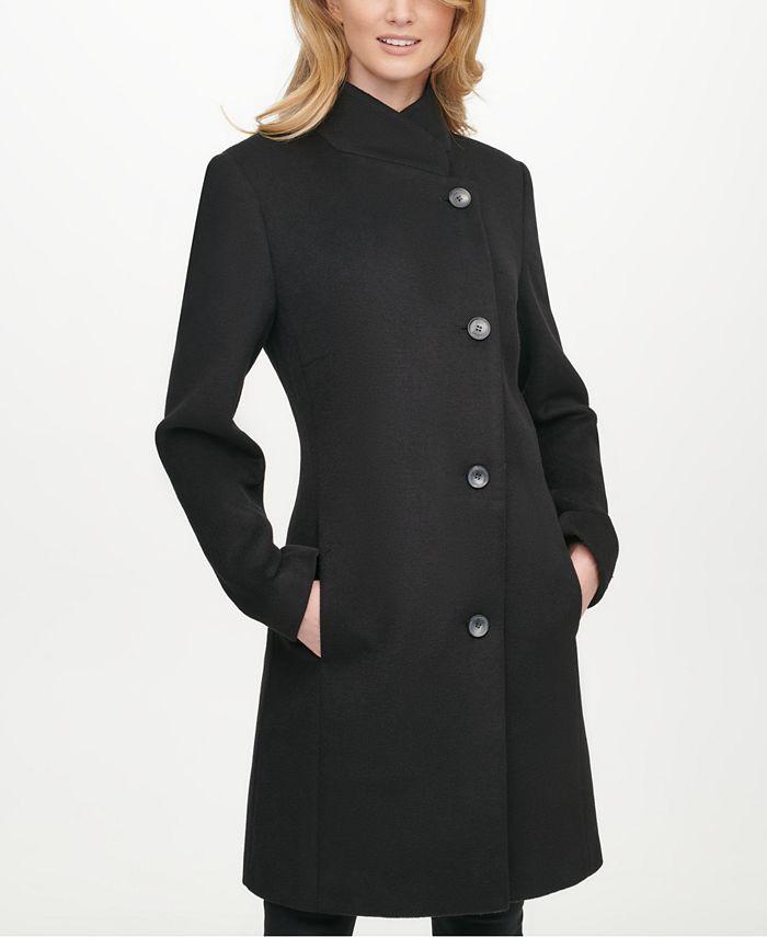 DKNY - Asymmetrical Reefer Coat