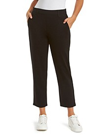 Women's Pull On Crop Ponte Pant