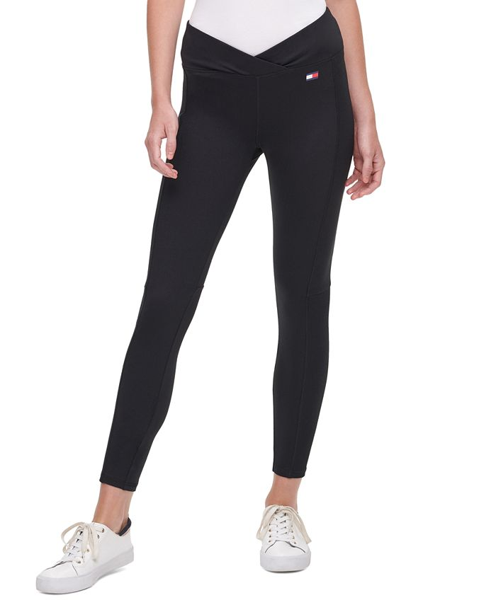 Tommy Hilfiger - Crossover-Waist Leggings