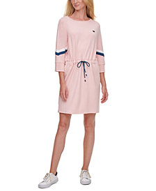 Tommy Hilfiger Sport Drawstring-Waist Shift Dress