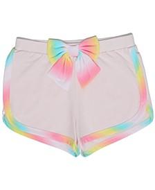 Toddler Girls Rainbow Knit Short