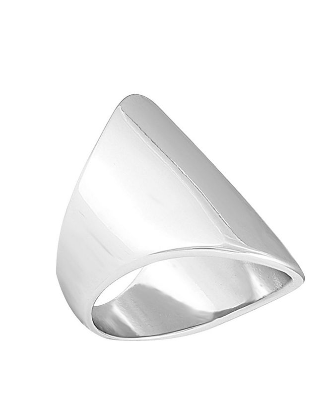 T Tahari Essential Links Domed Cocktail Ring